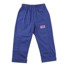 【愛的世界】彈性鬆緊帶雙邊口袋反褶長褲/2~3歲-台灣製- ---春夏下著 涼夏推薦