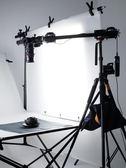 相機單反三腳架垂直俯拍加長延長桿拍攝道具攝影燈架四頭延長橫臂 星河光年DF