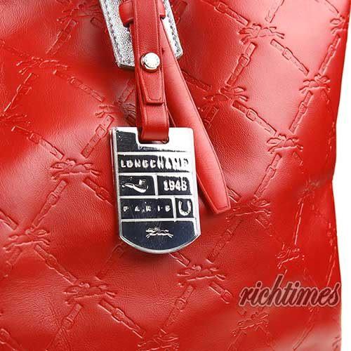 【裕代 LONGCHAMP】LM Cuir 系列托特包 - 紅色 LC0C6201