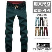 『潮段班』【HJ000170】夏季透氣薄款簡約純色機能休閒褲