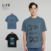 Life8-LIFE.R AIR PRINT 設計上衣 - 16011