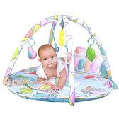 嬰兒健身器 嬰兒腳踏鋼琴寶寶健身架器0-1歲新生兒玩具音樂3-6-12個月 俏女孩