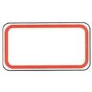 《享亮商城》1075 方形紅框 14*26mm  鶴屋
