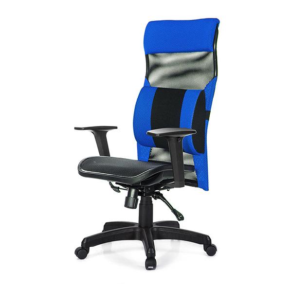 GXG 高背電腦椅 (2D升降扶手/大腰枕) 型號170 EA2