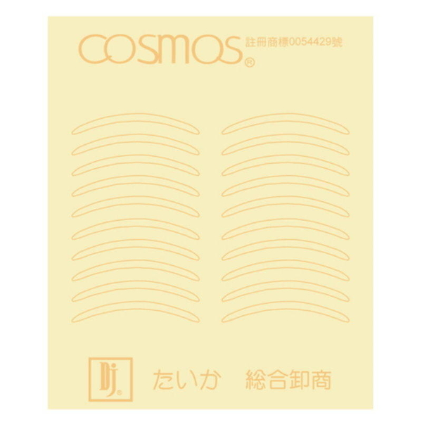 【DP201】COSMOS 雙眼皮貼布30回 透明可上妝3M透氣貼布 EZGO商城