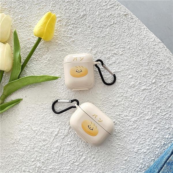 [ Airpods Pro 1/2 ] 可愛日文麵包先生 蘋果無線耳機保護套 iPhone耳機保護套