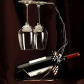 品酒晚宴家用醒酒器葡萄酒杯架北歐風格大號高腳杯水晶紅酒杯套裝 WY【快速出貨八折優惠】