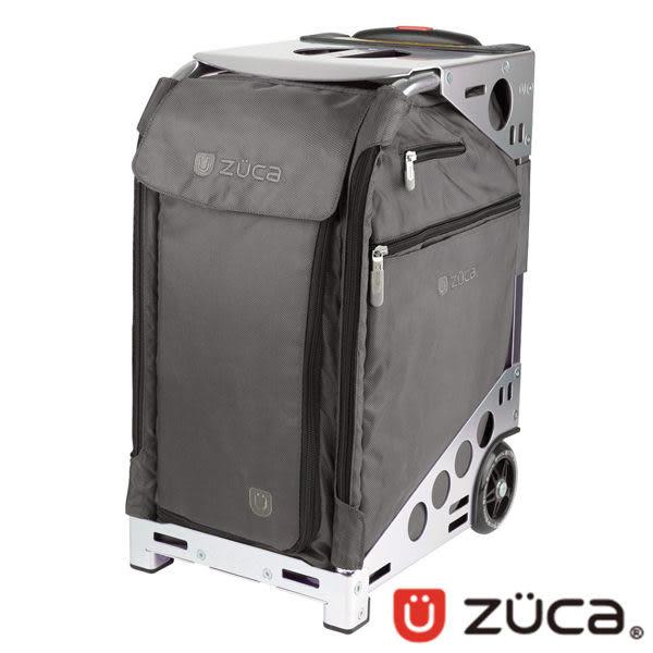 ZUCA Pro Artist 商務行李箱 登機箱 ZPA-375 (可坐式 / 可爬樓梯/輕巧/拉桿 )/灰布/銀框