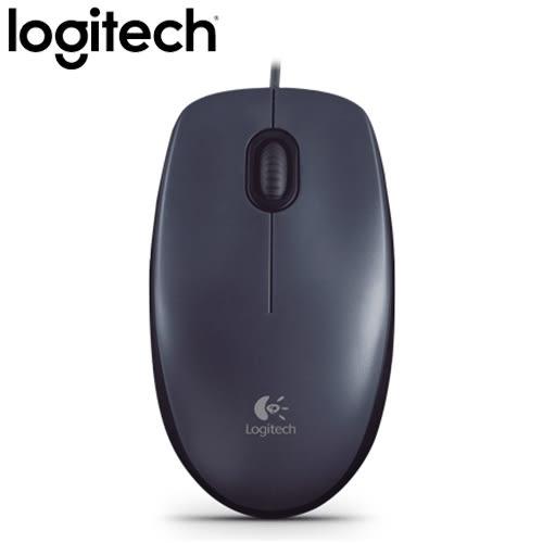 Logitech 羅技 M90 有線滑鼠 USB 黑【限時促銷~6/30止】