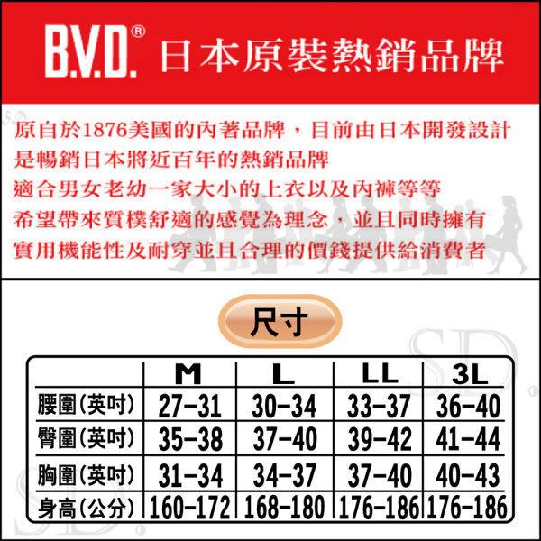 《BVD》B.V.D. 《台灣製造》100%棉 彩色三角褲 M~LL