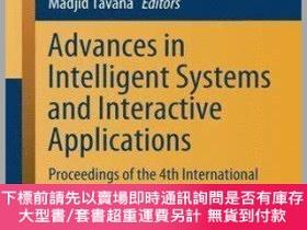 二手書博民逛書店Advances罕見in Intelligent Systems and Interactive Applicat