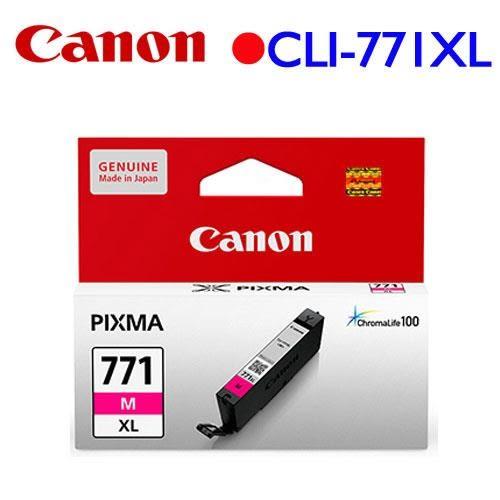 Canon CLI-771M XL原廠高容量墨水匣 (紅)