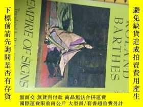 二手書博民逛書店empire罕見of signsY58485 Roland Ba
