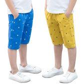 童裝男童短褲夏外穿薄款中褲五分褲休閒褲子大童男孩兒童沙灘褲潮【熱賣新品】