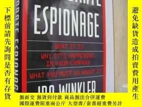 二手書博民逛書店CORPORATE罕見ESPIONAGE 公司間諜Y146810