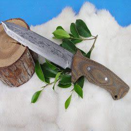 郭常喜與興達刀具--郭常喜限量手工刀品-大獵刀(A0030)