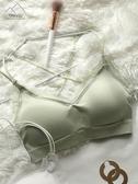抹胸內衣女無鋼圈美背文胸小胸聚攏運動背心式學生高中少女抹胸裹胸罩 伊蘿鞋包