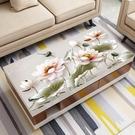3D印花網紅PVC茶幾桌布防水防燙防油免洗家用餐桌墊軟玻璃簡約