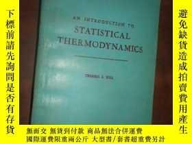 二手書博民逛書店STATISTICAL罕見THERMODYNAMICS:統計熱力