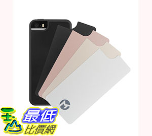 [106美國直購] Anti Gravity Case iPhone SE/5S/5 (4吋) Hands Free Nano Suction Material Sticks