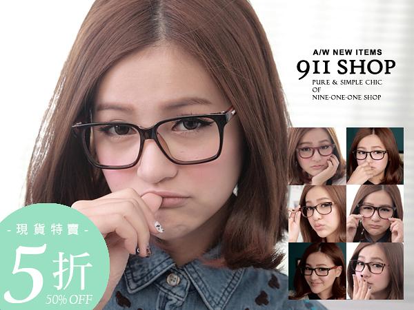 memory.多款-日系手造木質腳架黑膠框平光眼鏡【ob891】*911 SHOP*