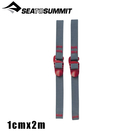 【Sea To Summit澳洲 勾形束物帶 (2條)《紅》】STSATDASH/行李束帶/綑綁帶/束繩/綁帶