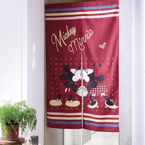 HOLA 迪士尼系列 米奇印花長門簾 寬90x高150cm MICKEY Disney
