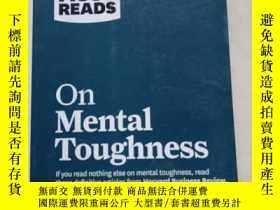 二手書博民逛書店HBR s罕見10 Must Reads on Mental Toughness (with bonus inte