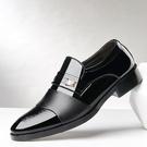 商務正裝皮鞋 尖頭套腳懶人鞋 大碼鞋子 ...