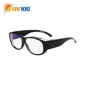 UV100 防曬 抗UV 濾藍光兩用眼鏡-疲勞護眼