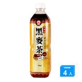 崇德發黑麥茶580ml*4罐【愛買】