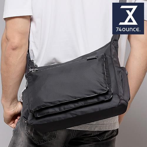 74盎司 側背包 防潑水輕量簡約斜背包[G-997]