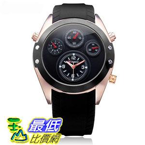 [國外直購] CURREN 8141 Silicone Band Men Analog Quartz Wrist Watch 手錶
