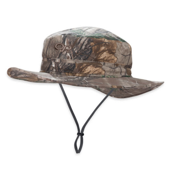 [OUTDOOR RESEARCH] Helios Sun Hat Camo 抗紫外線透氣中盤帽 - 叢林迷彩 (OR243459)