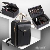 化妝包 大號化妝箱包多層大容量專業手提跟妝收納包美甲紋繡半永久工具箱 第六空間