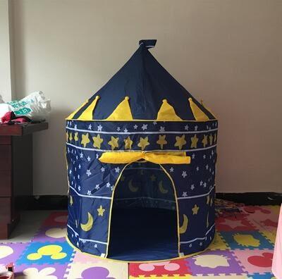 遊戲帳篷游戲帳篷小孩房子公主城堡屋寶寶室內蒙古包玩具幼兒園禮物igo 貝兒鞋櫃