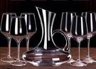 醒酒器 紅酒杯套裝家用醒酒器歐式大號小玻璃水晶杯葡萄酒高腳杯創意酒具【快速出貨八折下殺】