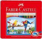輝柏FABER-CASTELL-24色水性彩色鉛筆(鐵盒裝)