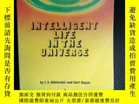 二手書博民逛書店Intelligent罕見Life In the Universe —— 宇宙中的智慧生活Y436638 I.