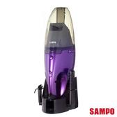◤A級福利品‧數量有限◢ SAMPO 聲寶 乾濕兩用手持充電吸塵器 EC-SA05HT