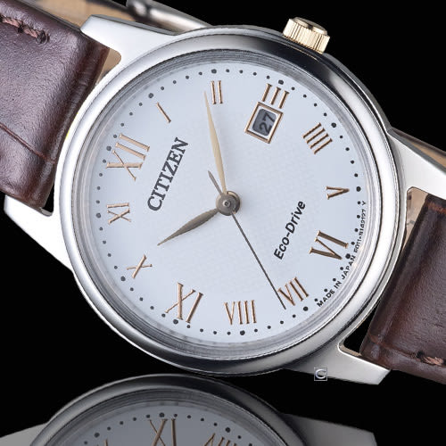 CITIZEN 星辰 Eco-Drive 光動能優雅都會時尚女錶 EW2314-15A