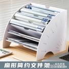 創意文件架資料分類架辦公室桌面文件架文件架收納架收納盒置物架大容量收納整理架桌面