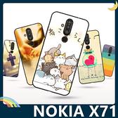 NOKIA X71 彩繪Q萌保護套 軟殼 卡通塗鴉 小清新 防指紋 全包款 矽膠套 手機套 手機殼 諾基亞