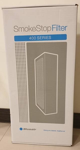 Blueair 400 SERIES SmokeStop Filter 活性碳濾網 1入 ( 405 • 480i • 450E) (DaulProtection) 平行輸入 產地:中國