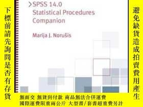 二手書博民逛書店Spss罕見14.0 Statistical Procedures CompanionY256260 Mari