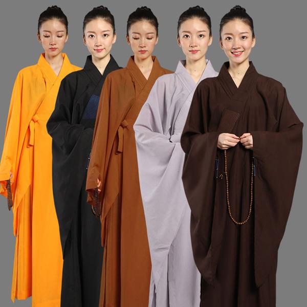 佛教用品台灣麻紗不透明海青居士服男女同款法會僧衣僧服海清
