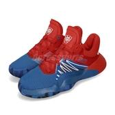 adidas D.O.N. Issue #1 J 蜘蛛人 藍 紅 女鞋 大童鞋 籃球鞋 【PUMP306】 EF2932