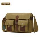 【TROOP】傳統簡約HERITAGE單肩包/TRP0434CAM(駝色)