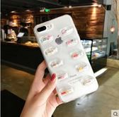 膠囊小人滴膠iphone7plus/6s/8p/ix防摔透明8