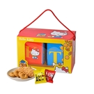 Hello Kitty.雙饗禮盒×1盒(奶蛋素)(提盒)﹍愛食網